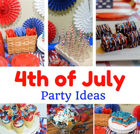 4th of july celebration ideas 4th of july party decoration dessert ideas mommy s fabulous finds