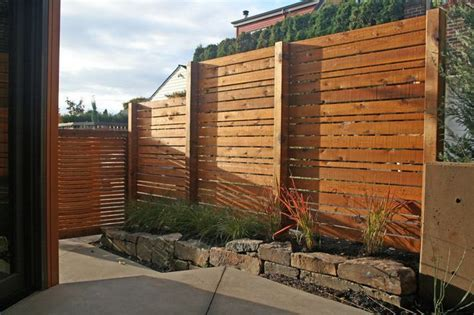 Creating Privacy On A Sloped Yard