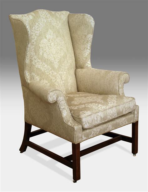 antique wing arm chair georgian wing chair 18th century
