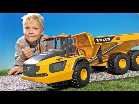 bruder  volvo ah dumper truck  children
