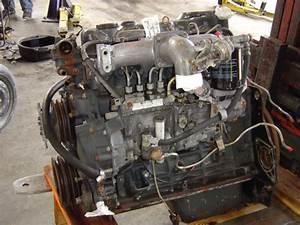 Mitsubishi Fuso Diesel Engine 4d31 Fe 1990 Used