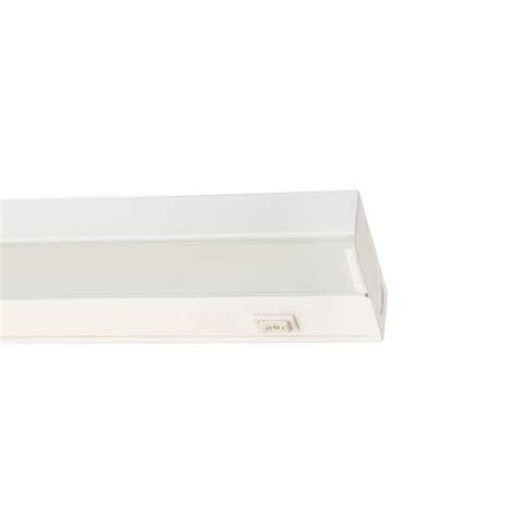 nicor 21 5 in xenon white cabinet light fixture