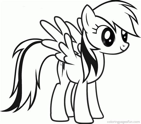 Coloring Pony by My Pony Coloring Page Coloring Home