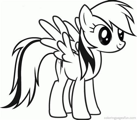Coloring Kuda Poni by Gambar Mewarnai Pony Gooooo Krayon Coloring Gambar Di