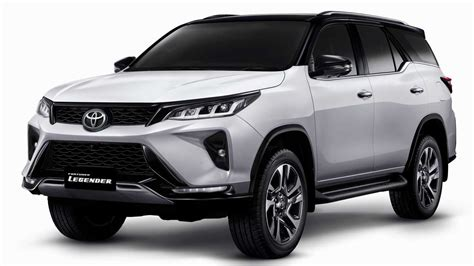 The toyota fortuner is built to withstand and protect the people inside the vehicle. Toyota Starts Bookings For All-New 2021 Toyota Fortuner In ...