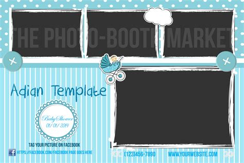 photo booth psd template photobooth photoshop