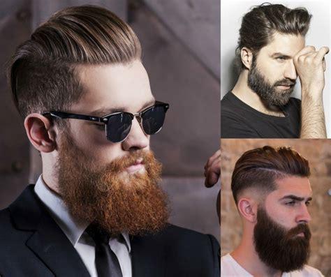 tagli capelli uomo  domina la barba il ciuffo