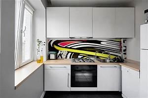 Credence Cuisine Moderne : cr dence cuisine moderne oeil graff izoa ~ Dallasstarsshop.com Idées de Décoration