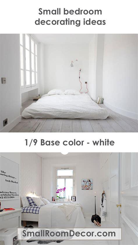 modern small bedroom decorating ideas minimalist style