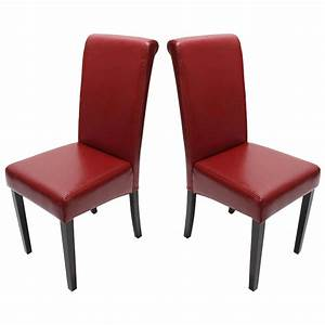 Stuhl Leder Grau : 2x esszimmerstuhl stuhl novara ii leder schwarz creme wei rot braun grau ebay ~ Indierocktalk.com Haus und Dekorationen