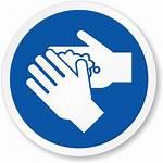 Wash Hand Sign Circle Iso Symbol 1019