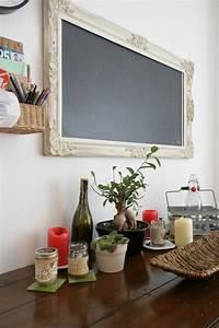 Tableau Pour Cuisine : idee de peinture pour salle a manger 7 murs en tableau noir id233es de cuisine et placards de ~ Teatrodelosmanantiales.com Idées de Décoration