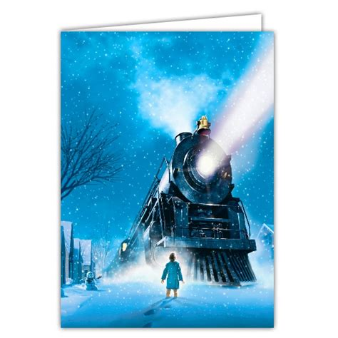 platform polar express holiday photo cards paperstyle