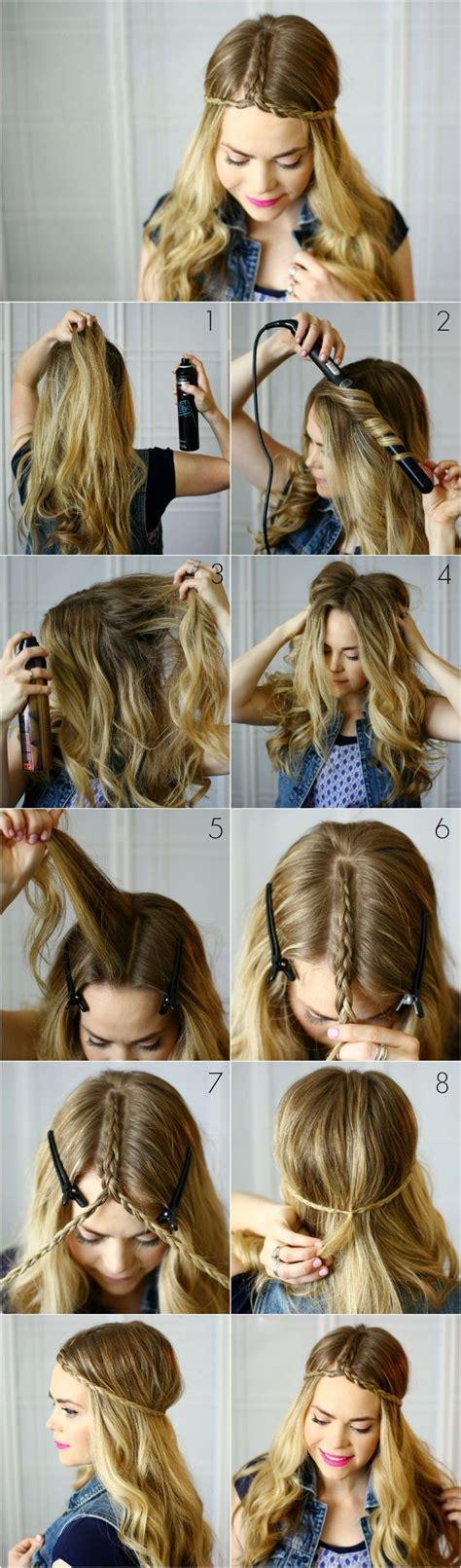 Cute boho braid hairstyle for Summer #summer Festival