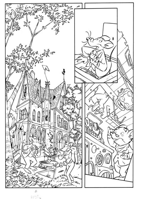 Thea Kleurplaten by Geronimo Stilton Coloring Pages Coloring Home