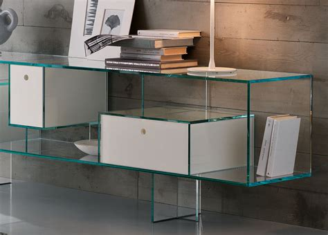 Glass Sideboards by Tonelli Liber Glass Sideboard Tonelli Design Glass