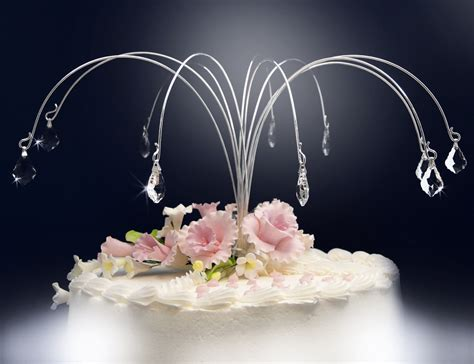 baroque crystal drops cake jewelry  cake decorations