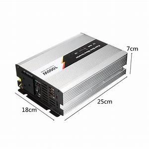1000w 230v Dc 12v To Ac Pure Sine Wave Inverter Power