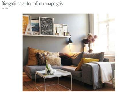 deco salon canape gris deco salon gris canape design de maison