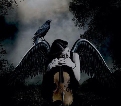Alone, Angel, Bird, Black, Cry, Dark, Darkness, Girl