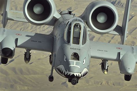 MA12 Military Aircraft A10 Thunderbolt II Warthog Fighter