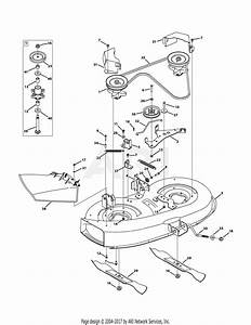 Troy Bilt 13av77kf066 Tuffy  2011  Parts Diagram For Mower