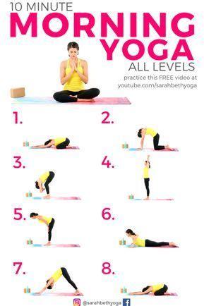 youtube video  minute morning yoga  beginners