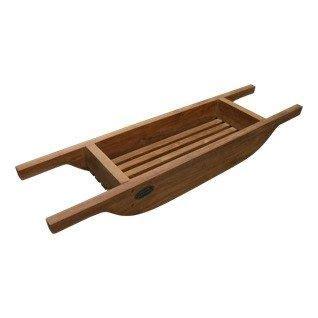 teak bath caddy bath sage pinterest
