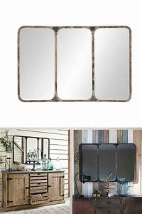 Miroir Maison Du Monde Industriel : miroir effet industriel ~ Teatrodelosmanantiales.com Idées de Décoration
