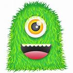 Monster Icon Hairy Transparent Cyclops Icons Background