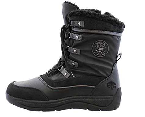 af0fc401ed6 Totes Womens Vail Snow Boot Available In Wide Width