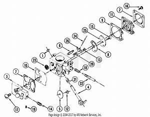 Poulan 20d Gas Saw Parts Diagram For Carburetor 35001