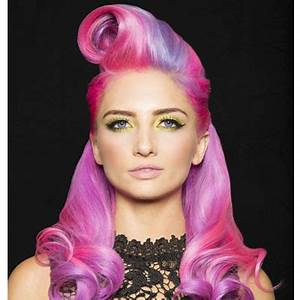 Pink and Lavender NEON from Pravana Behindthechair