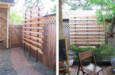 Backyard Privacy Screens Trellis - privacy screen for side yard where fencing isn t