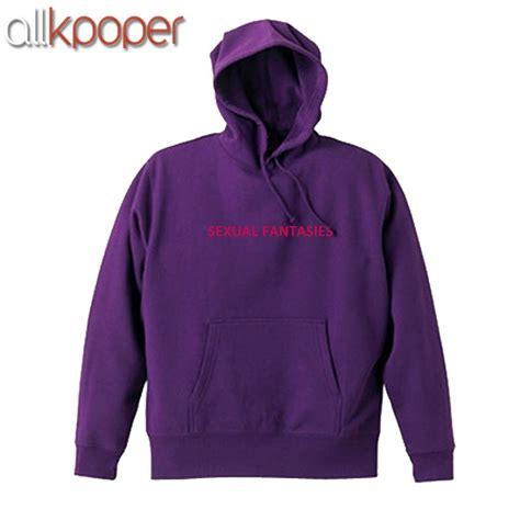 ALLKPOPER KPOP EXO Chanyeol Cap Hoodie Sweatershirt Airport Fashion VIXX Ravi Purple Pullover-in ...