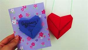 Herz Falten Origami : diy deko herzchen falten geldgeschenk oder gutschein herz origami youtube ~ Eleganceandgraceweddings.com Haus und Dekorationen