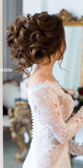 romantic wedding hairstyles  long hair trend  wear