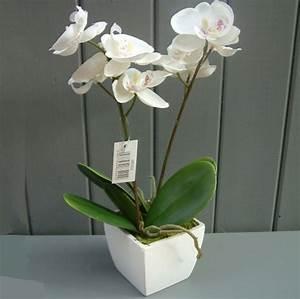 Pot De Fleur Artificielle : plante artificielle de faux v g taux plus vrais que nature ~ Teatrodelosmanantiales.com Idées de Décoration