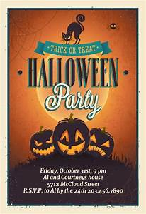 Free Printable Housewarming Invitations Cards Vintage Party Halloween Party Invitation Template Free