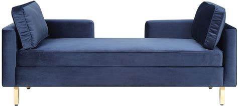 chaise navy navy chaise by donny osmond from coaster coleman