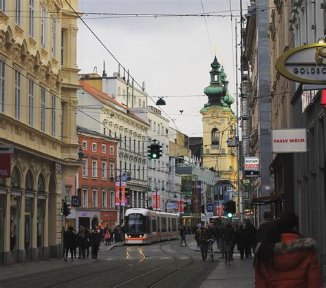 In the north of the country, it is on the danube 30 kilometres (19 miles). Linz, Austria : europe