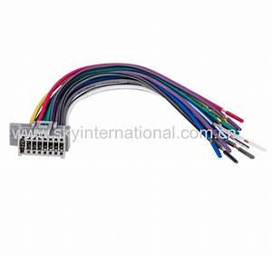Panasonic New Wire Harness 16pin Stereo Cd Radio Player