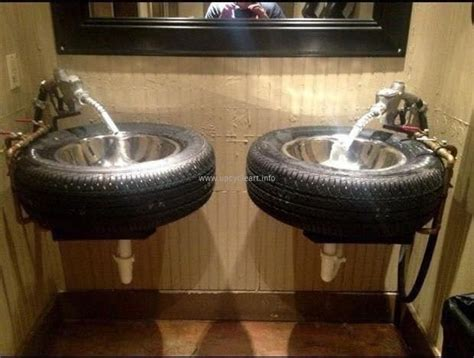 Different Crafts Made with Old Tires   Upcycle Art