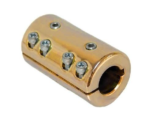 heavy duty split prop shaft couplers  coupler hardin marine