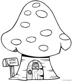 House Coloring Pages Print Out