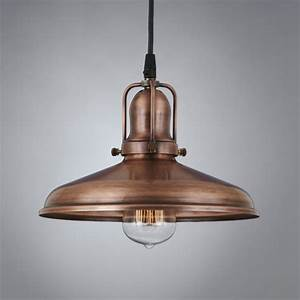 Woodhill copper antique pendant light vintage
