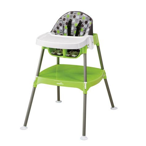 chaise haute toys r us amazon com evenflo convertible high chair dottie lime childrens highchairs baby