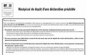 Panneau Déclaration Préalable : d claration pr alable de travaux ~ Dode.kayakingforconservation.com Idées de Décoration