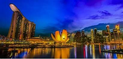 Singapore Bay Marina Wallpapers Sands Capital Nu
