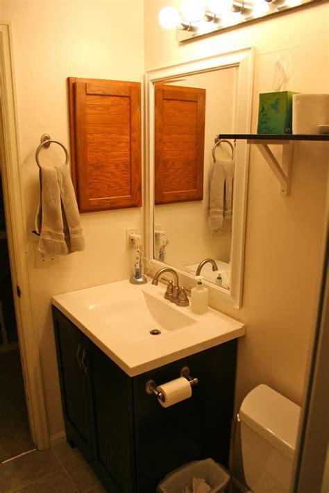 swear happened diy bathroom remodel